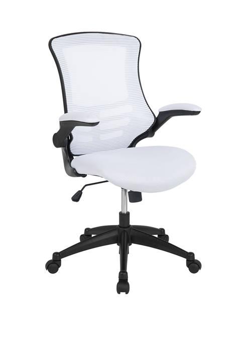 Flash Furniture Mid Back Mesh Swivel Ergonomic Task