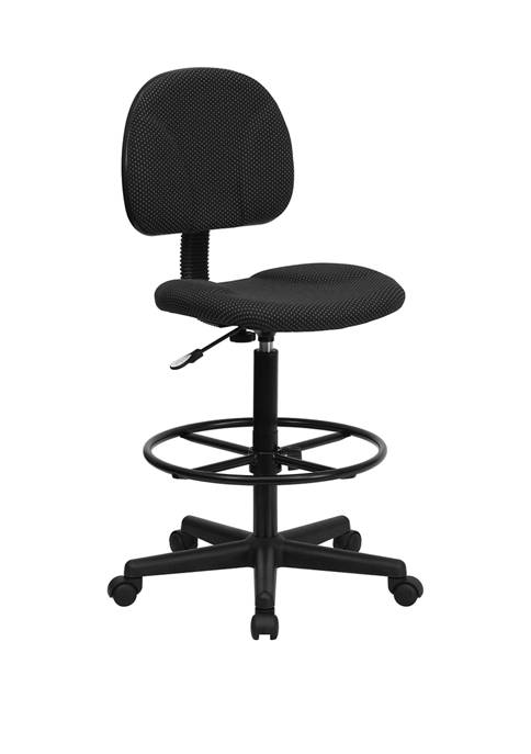 Flash Furniture Fabric Drafting Chair (Cylinders: 22.5 in-27