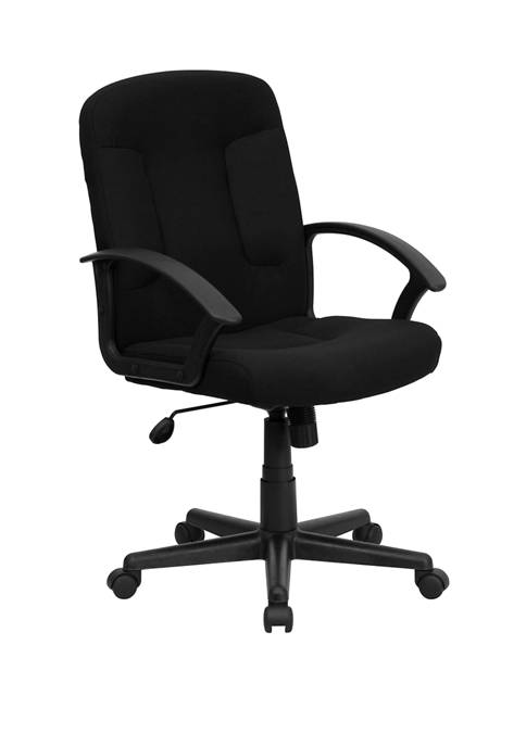 Flash Furniture Mid-Back Fabric Executive Swivel Office Chair