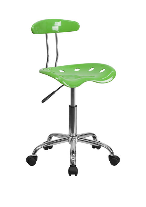 Swivel Task Chair |Adjustable Swivel Chair for Desk and Officewith Tractor Seat