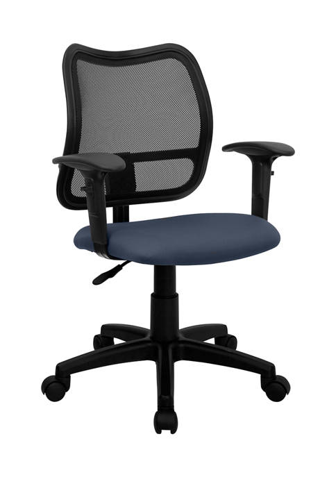 Flash Furniture Mid-Back Mesh Swivel Task Office Chair