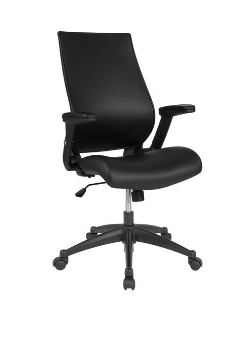Flash Furniture High Back LeatherSoft Executive Swivel Office