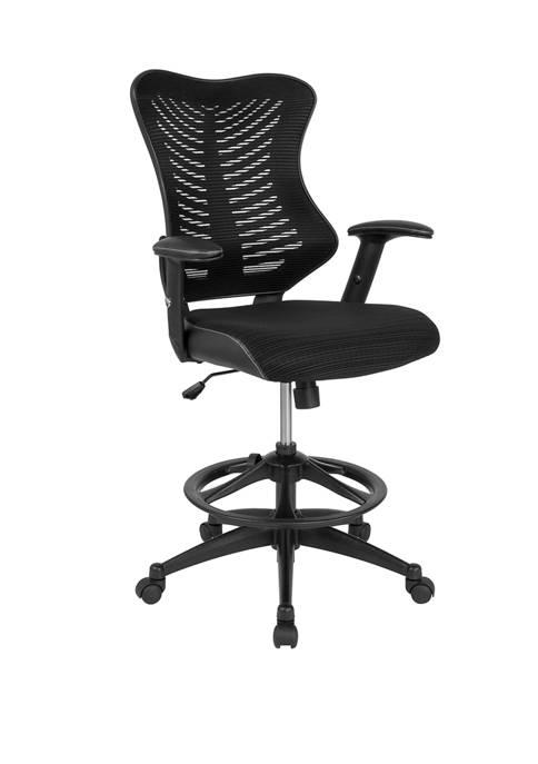 Flash Furniture High Back Designer Mesh Drafting Chair