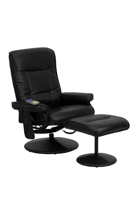 Flash Furniture Massaging Multi Position Recliner with Side