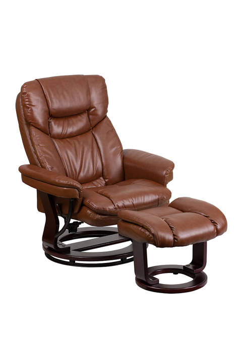 Flash Furniture Contemporary Multi Position Recliner and Curved