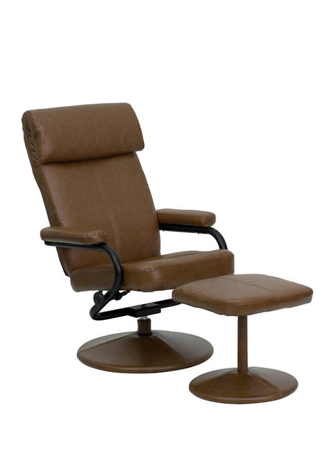 Flash Furniture Contemporary Multi Position Headrest Recliner and