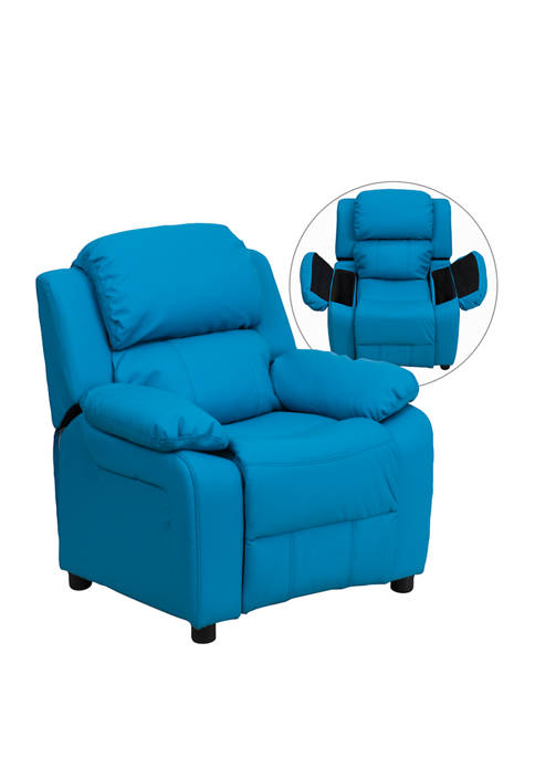 Flash Furniture Deluxe Padded Contemporary Kids Recliner with