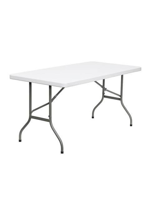 Flash Furniture 5ft Folding Table