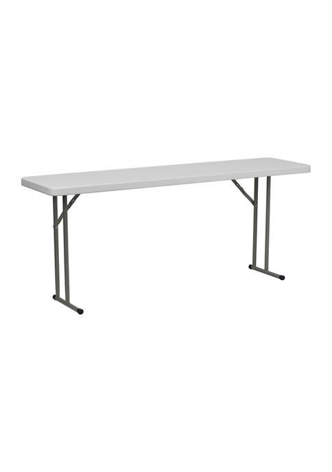 6 Foot Folding Training Table