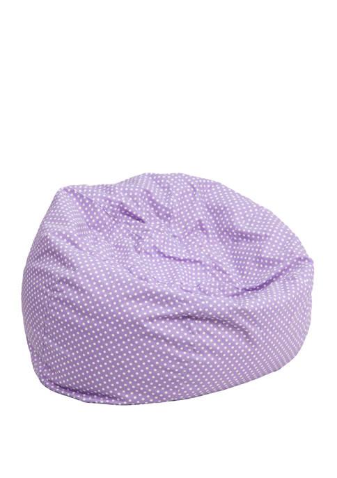 Flash Furniture Small Bean Bag Chair for Kids