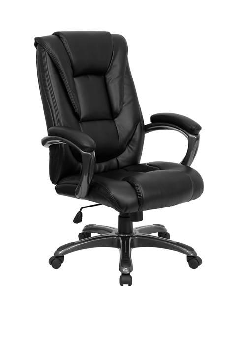 Flash Furniture High Back LeatherSoft Layered Upholstered