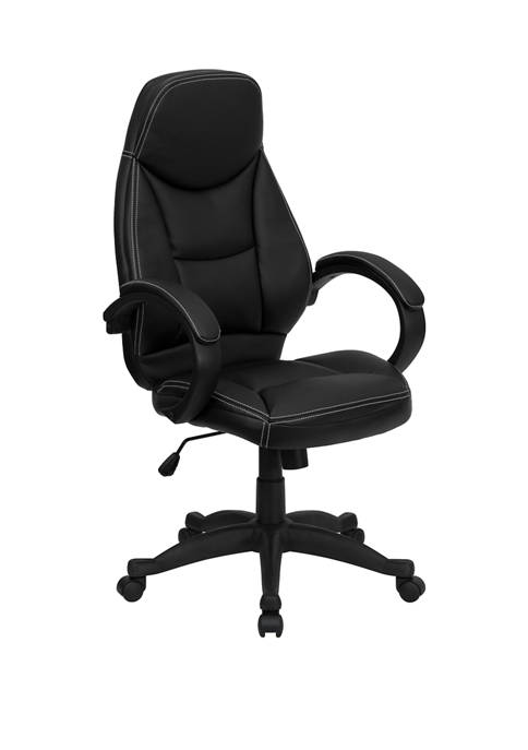 Flash Furniture High Back LeatherSoft Contemporary Executive