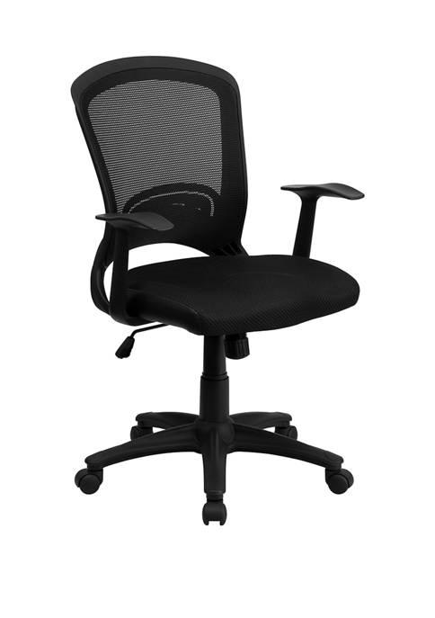Flash Furniture Mid-Back Designer Mesh Swivel Task Office