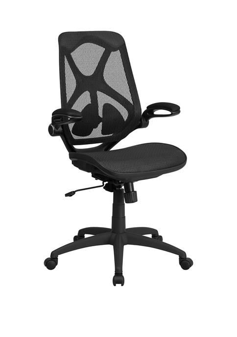 Flash Furniture High Back Transparent Mesh Executive Swivel
