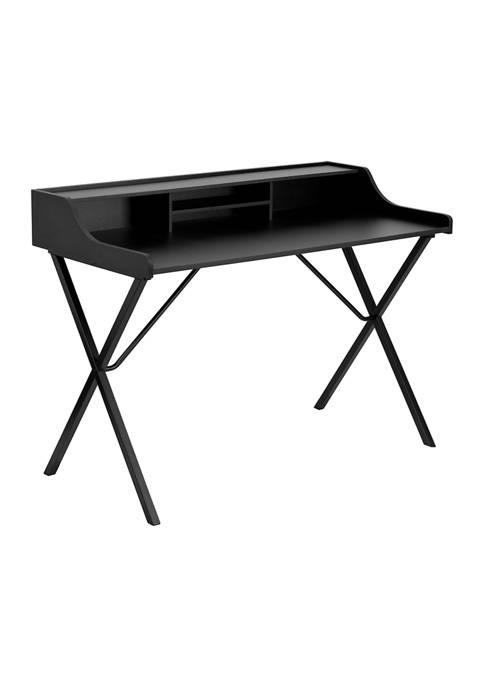 Flash Furniture Computer Desk with Top Shelf