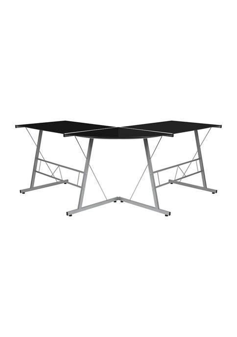 Flash Furniture L-Shaped Corner Desk