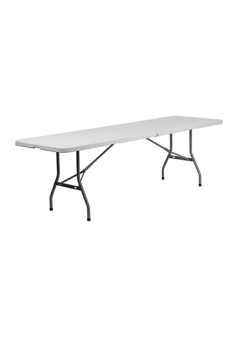 8 Foot Banquet and Event Folding Table