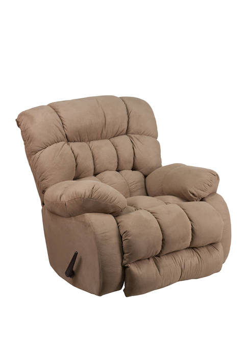 Flash Furniture Contemporary Softsuede Microfiber Rocker Recliner