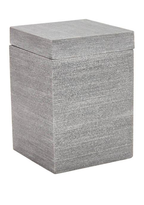 Slate Resin Cotton Jar
