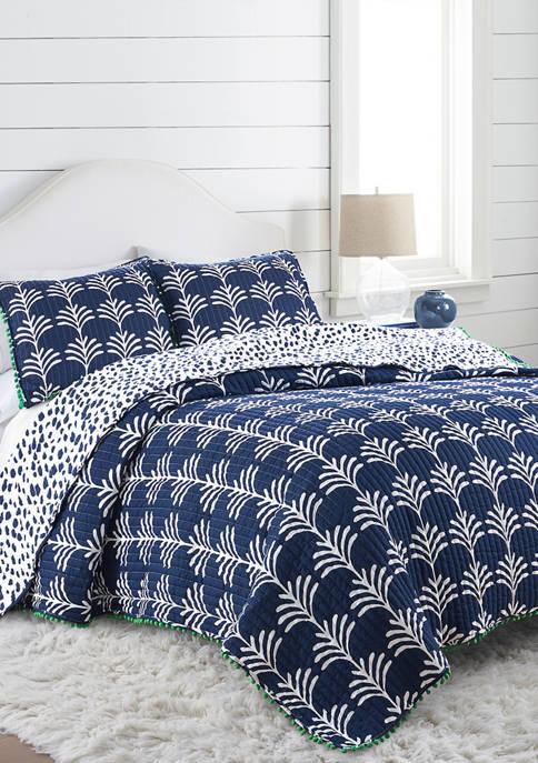 Crown & Ivy™ Indio Palm Quilt Set