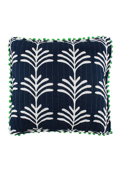 Crown & Ivy™ Indio Palm Pillow