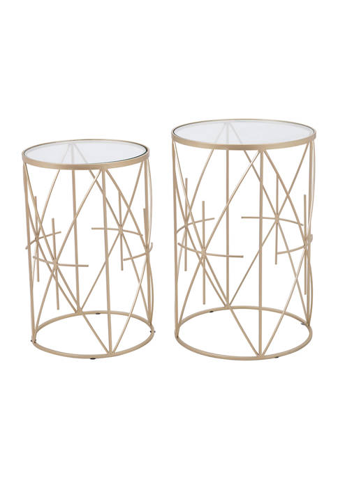 Zuo Hadrian Side Table Set
