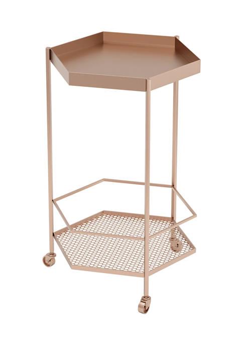 Zuo Hex Bar Cart