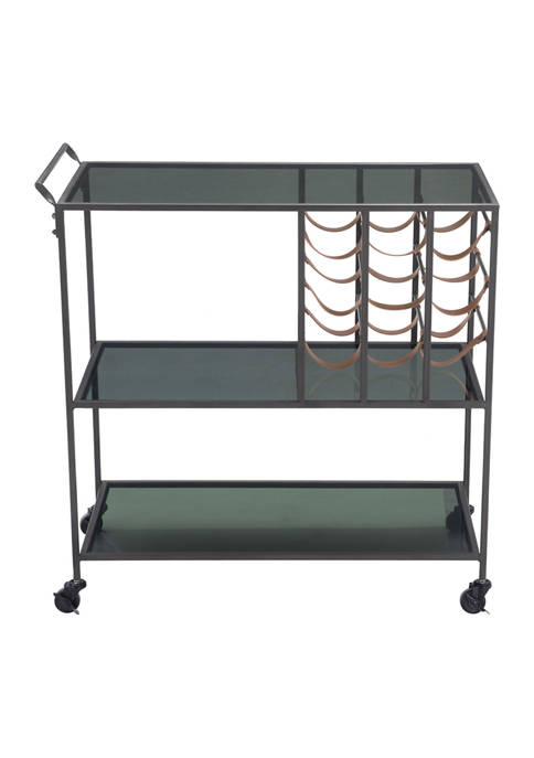 Streamline Bar Cart