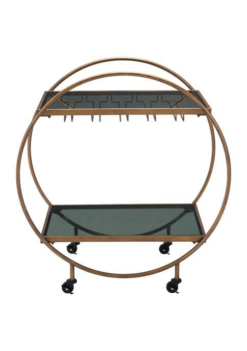 Zuo Arc Bar Cart