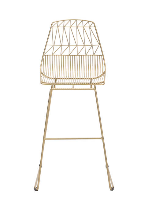 Zuo Set of 2 Brody White Bar Chair