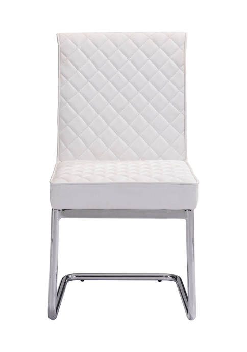 Quilt Armless Dining Chair Set