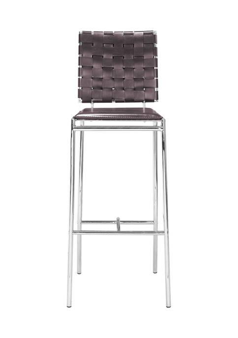 Criss Cross Bar Chair - Set of 2