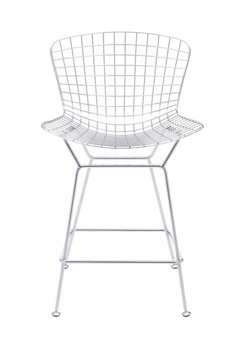 Wire Counter Chair - Set of 2