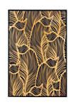 Gold Flora Canvas