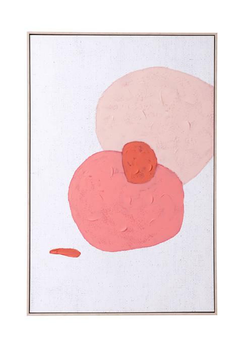 Pink Geode Canvas