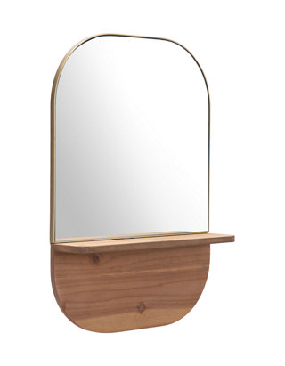 Zuo Mirror Box Brown Large
