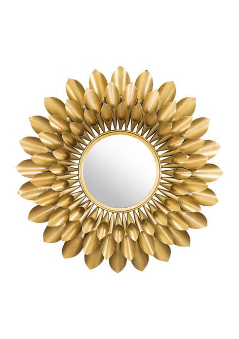 Sunflower Round Mirror