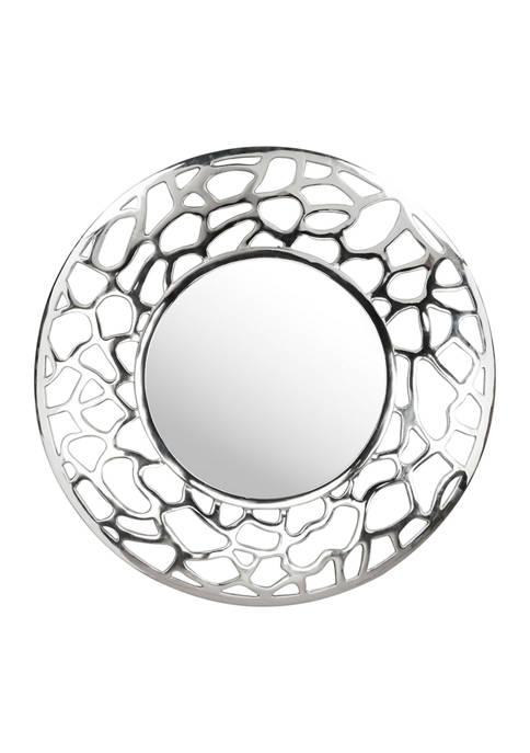 Reef Round Mirror