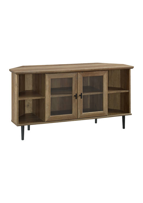 Bridgeport Designs 48 Inch Modern Corner TV Stand