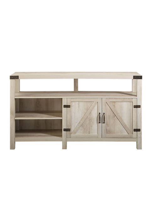 Bridgeport Designs 58 Inch Tall Farmhouse TV Stand