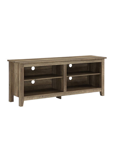 Bridgeport Designs 58 Inch Rustic TV Stand