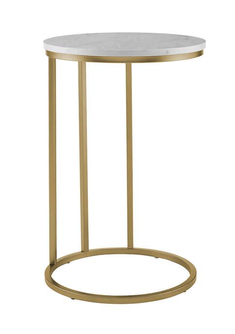 Modern Round C Table