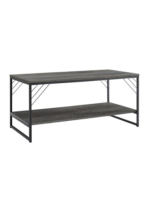 Bridgeport Designs Industrial Square Coffee Table