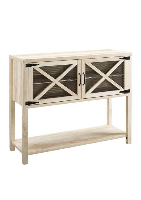 Bridgeport Designs Farmhouse Door Console Table Buffet