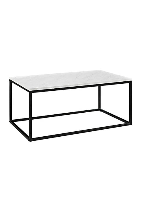 Modern Glam Coffee Table