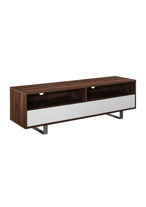 Bridgeport Designs 60 Inch Modern 3 Drawer Low