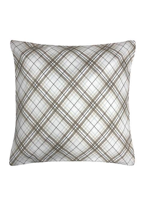Plaid Decorative Pillow