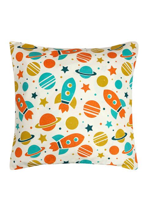 Harper Lane Universe Decorative Pillow 18 in x