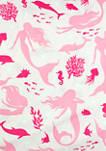 Pretty in Pink Mermaid Pillowcase Pair Standard