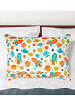 Universe Bed Pillow 20 in x 28 in